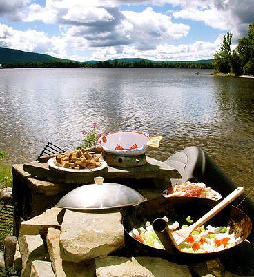 Lichen's feast