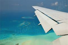 Maldive,atollo di Male Sud (ariannacascinelli) Tags: world sea beach water club plane wonderful island nikon mare tropical spiaggia aereo paradiso isola naturalmente d90