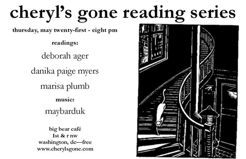Deborah Ager, Danika Paige, Myers and Marisa Plumb read at Cheryl's Gone reading series
