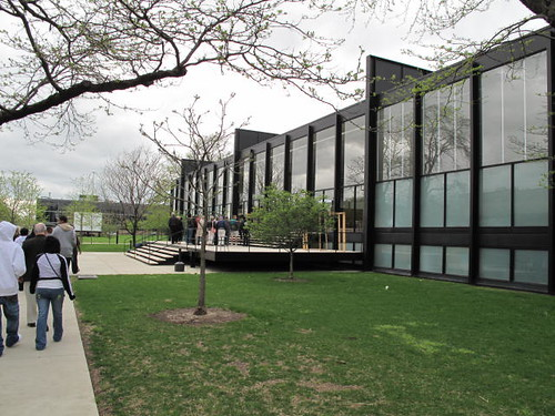 Mies Van der Rohe's Crown Hall at the Illinois Institute of Technology