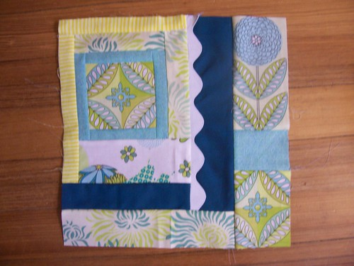 AQB2 June Block 1 for Rachael by Ripping Out Seams.