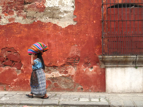 On the streets of Antigua