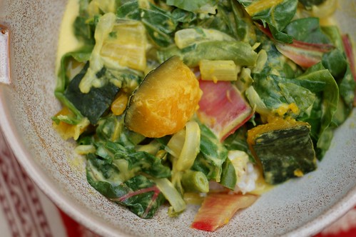 Coconut Veggie Curry by Eve Fox, Garden of Eating blog