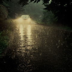 On the rainy road (EudaldCJ) Tags: rain album squareformat catalunya 500x500 ripolls artlibre winner500 hourofthesoul