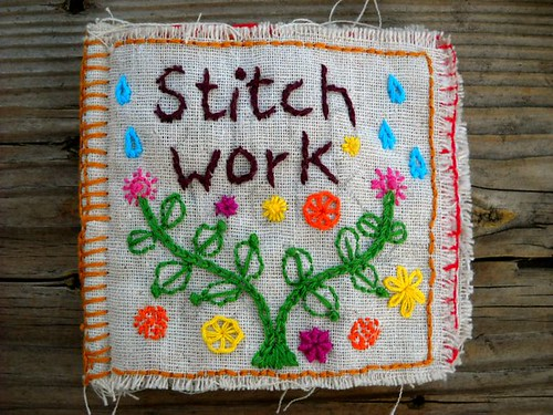 stitch work cover