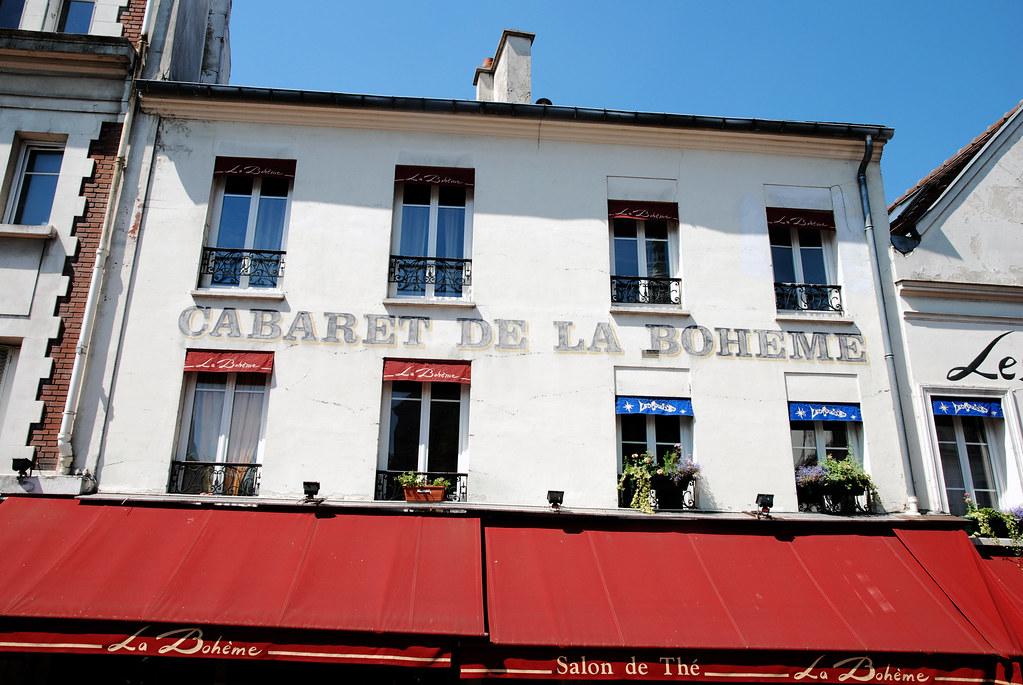 Cabaret De La Boheme - Montmarte, Paris