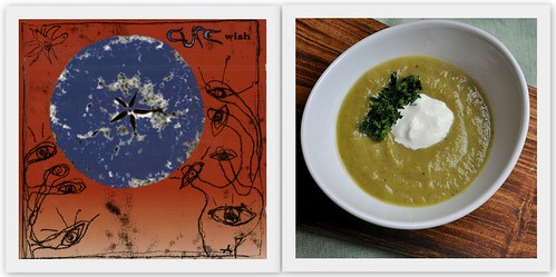 4561865965 936ecf9a6d Musical Pairings: The Cure   Wish (paired with roasted asparagus soup with spring herb gremolata)
