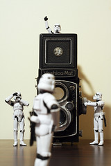 Shifting Focus (-spam-) Tags: tlr film canon toys 50mm starwars artistic plastic stormtrooper 365 figurine playstation yashica hasbro yashicamat spacetrooper lifeinplastic 40d lifeonthedeathstar