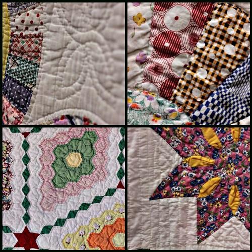 Hand Work :: Vintage Quilts