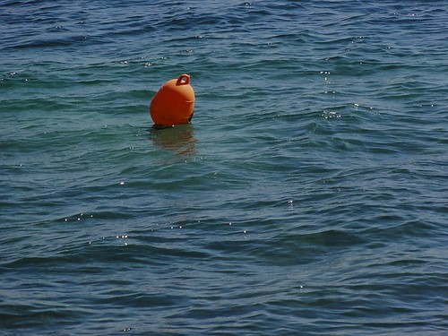 Buoy in the sea