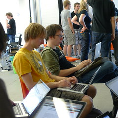 hacking at RHoK Berlin