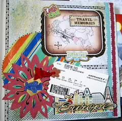 IC23- Your are here- Scrapbook page