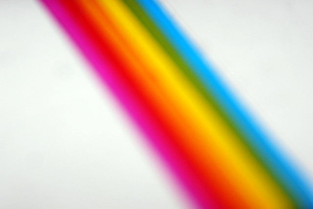 Day 290 - Rainbow Stripe