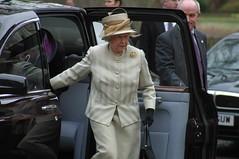 Queen and Bodyguard (swatman67) Tags: royal queen monarch royalty regal bg escort bodyguard queenelizabeth thequeen cpo minder closeprotection eiir so14 bulletcatcher protectionofficer royaltyprotection