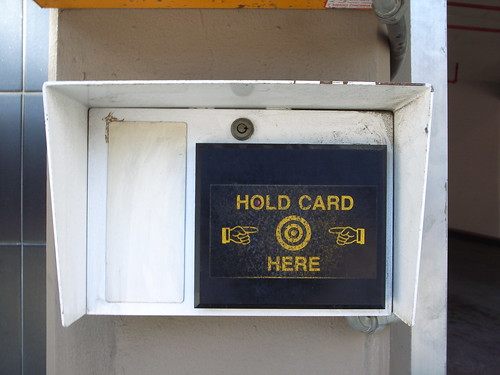 Hold card here