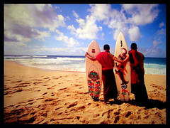 north shore monks (Xapa) Tags: sky beach hawaii interestingness sand bhutan religion explore northshore surfboard bhutanese xapa ocena karabaker