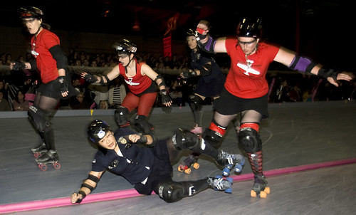 FC skaters send Killo Kitty flying