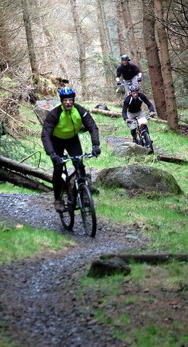Riders at Carron Valley