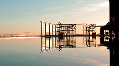 ...meeting... (gicol) Tags: sunset reflection spain tramonto cordoba 35faves abigfave anawesomeshot damniwishidtakenthat goldenvisions