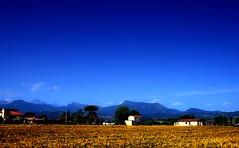 Fields, mountains, sky (Visualtricks) Tags: onblue mywinners