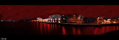 Quays (vova2101) Tags: ireland panorama night canal shoppingcentre vs northern quays newry