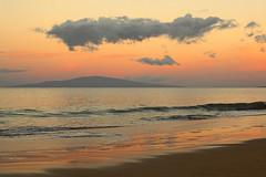 Nirvana (Natural Light Seeker) Tags: ocean longexposure travel sunset sky usa reflection beach nature water digital canon hawaii sand surf waves natural wave maui noflash canondslr magichour 30d beachtravel