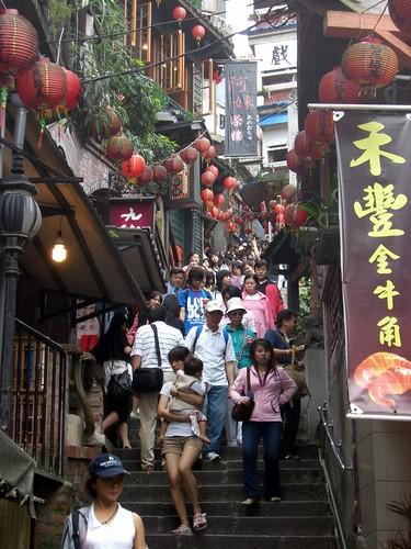 Jishan street, Jiufen