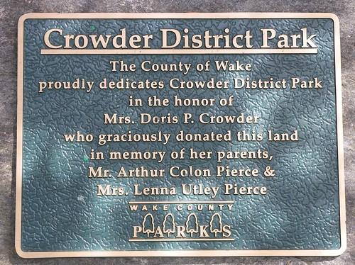 Wake County Crowder District Park 018