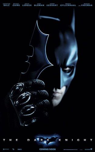 Poster The Dark Knight El Caballero Oscuro Batman Christopher Nolan Christian Bale