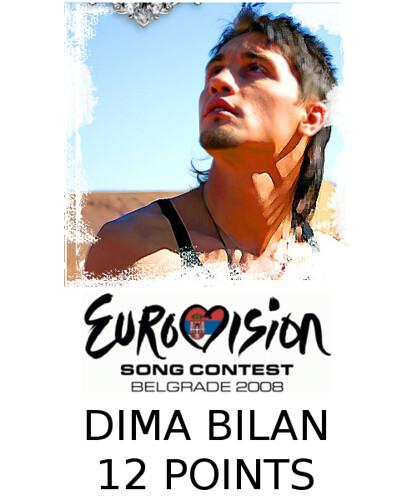 Dima Bilan - Eurovision 12 Points