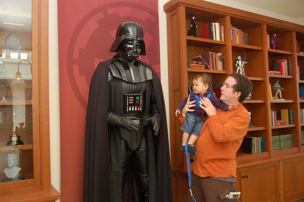 Darth Vader your real father