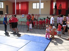 Stage and Mats (John Beckley) Tags: gymnastics tenerife gabriella piedrahincada
