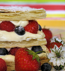 Summer berry mille-feuille 3862 b