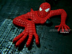 Close Encounter (Suh@il) Tags: pakistan red macro toy idea climb keychain spiderman sonyh5 suhailakhtar suhil