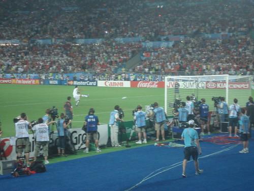 EM 2008. Spanien - Italien. Elfmeter Schießen