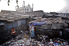 Shadow City - A look at Dharavi. (lecercle) Tags: poverty life people india bombay mumbai reportage urbanpoor dharavi mumbaislum howtheothersidelives