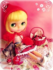 Little Red Ridding Hood by Yvonne