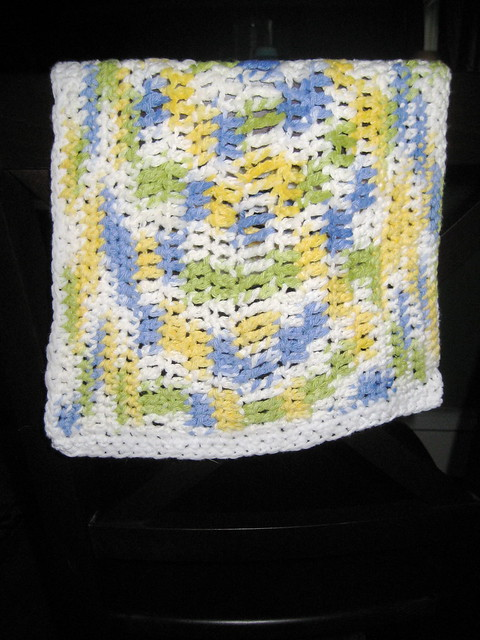 Dish towel crochet pattern. - Crafts - Free Craft Patterns - Craft