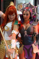 He man and the masters of the universe ladies (Socal Photography) Tags: hot beautiful funny comic cosplay cartoon 2008 comiccon con heman shera sdcc mastersoftheuniverse evillyn gospodarisvemira