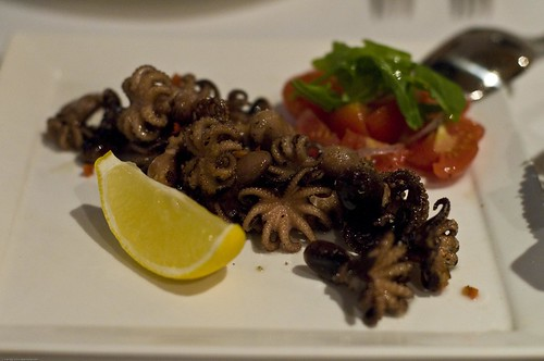 Pan-grilled Squid