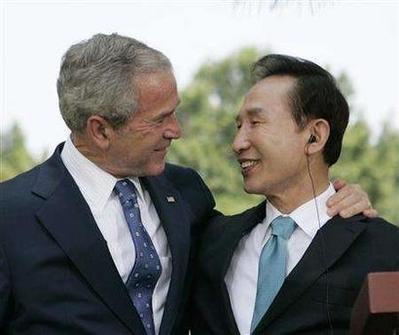 Bush in South Korea, 8.6.08  1