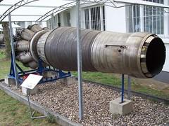 Turbinenluftstrahltriebwerk WK-1F