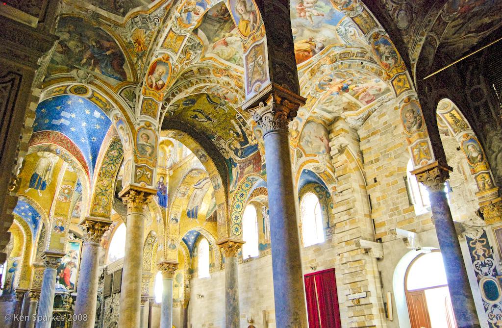 Chiesa di Santa Maria dell'Ammiraglio (La Matorana), Palermo, Sicily