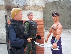 The Peacekeepers meets Max Steel (adriano_gatilho) Tags: toy actionfigure powerteam maxsteel worldpeacekeepers