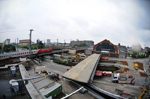 Brückenbau Amsinckstraße Hamburg Deichtorhalten