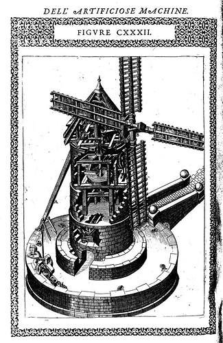 09- Molino de viento para la molienda de grano