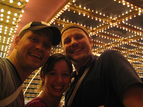 Ferf, Amy and Nick at Circus Circus