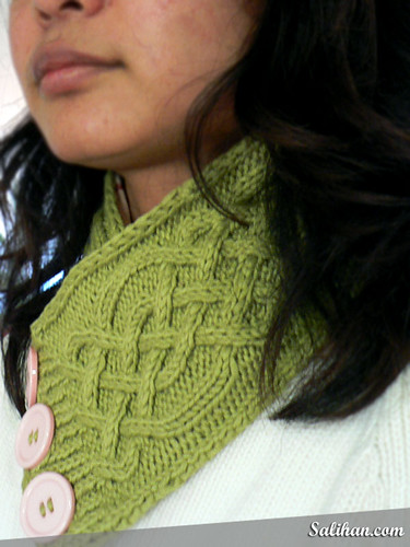 Celtic Cable Neckwarmer