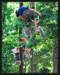 "What is ""Gravity""? (blah blah photos...blah blah blah) Tags: camera family red 3 mike bike three photo nikon bmx pittsburgh ride general mark air trails bull dirt trick welcome independence jam hopewell redbull hoffman hoffmanbikes potoczny nikond40x d40x welcomejam"