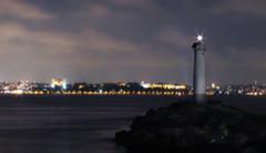 deniz feneri (Can Balci) Tags: sea lighthouse istanbul deniz kadky fener denizfeneri